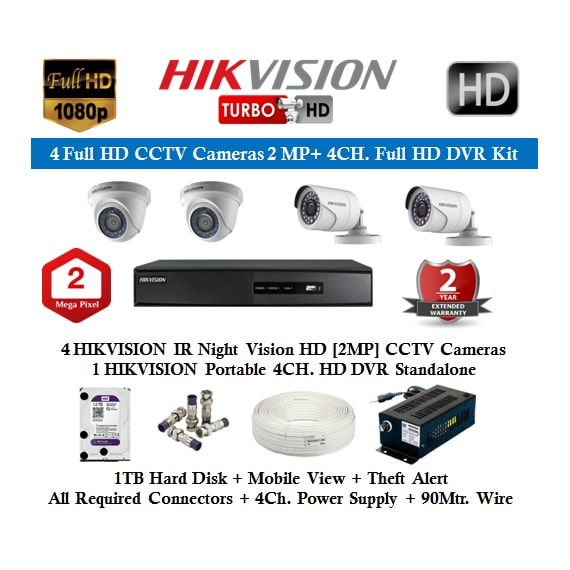 Hikvision CCTV Camera Dealers in Coimbatore